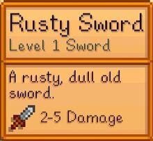 Rusty Sword state