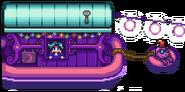 Лодка странствующего торговца