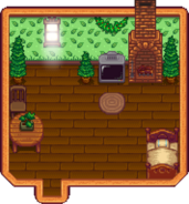 Forest Farmhouse Interior