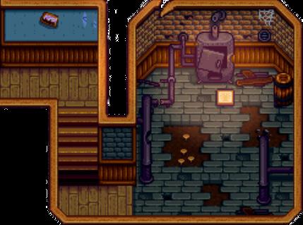 Community Center Boiler Room