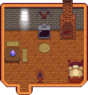 Hill-top Farmhouse Interior