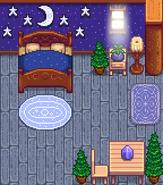Лес и луна