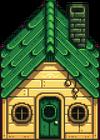 Дощатый домик2