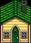 Дощатый домик3