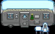 Фургон зима