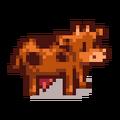 Корова коричневая