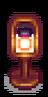 Лампа со свечой