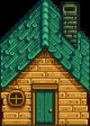 Дощатый домик1