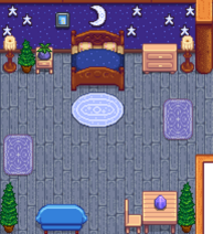 Лес и луна 2