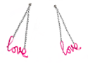 Paris Love Earrings2