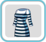 BlackWhiteStripeDress26