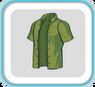 OliveUnbuttonedShirt