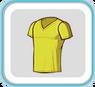 YellowV-neckTshirt