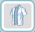 WhiteUnbuttonedShirt