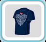 HeartV-neckTshirt