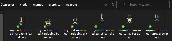 Mymod gun glow sprites