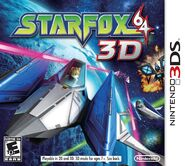 Star Fox 64 3D cover