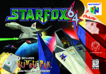 Star Fox 64 cover