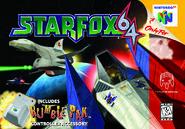 Star Fox 64 cover