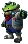 Slippy Starlink Render
