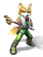 Fox with staff for wiki