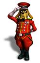 Brawl Sticker General Pepper (Star Fox Assault)