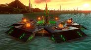 Boss aquarosa-weaponized floating fortress