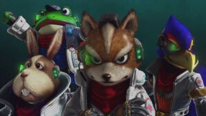 SF0 Star Fox Team Intro
