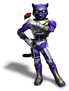 Brawl Sticker Panther (Star Fox Assault)