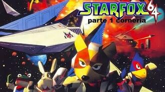 Star fox 64 lylatwar parte 1 corneria