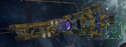 Venomian Frigate