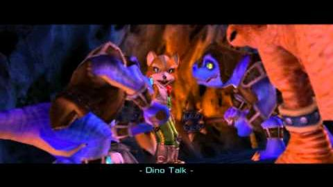 Star Fox Adventures - Meeting Tricky