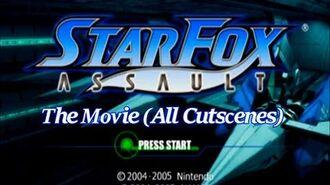Star Fox Assault - The Movie (All Cutscenes)