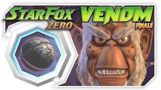 Star Fox Zero - FINALE Venom! Wii U Gameplay Walkthough With GamePad