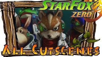Star Fox Zero - All Cutscenes (Full Movie)