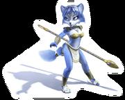 Brawl Sticker Krystal (Star Fox Adventures)