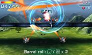 SF643D Barrel Roll