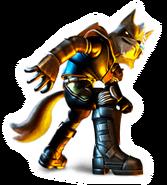 Brawl Sticker Wolf (Star Fox Assault)