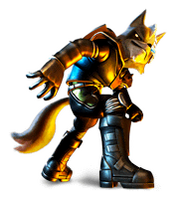 Brawl Sticker Wolf (Star Fox Assault)