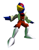 Brawl Sticker Falco (Star Fox 64)