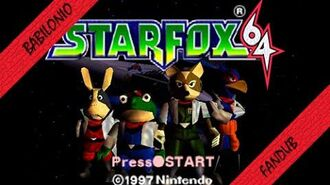 Star fox 64 intro Fandub latino
