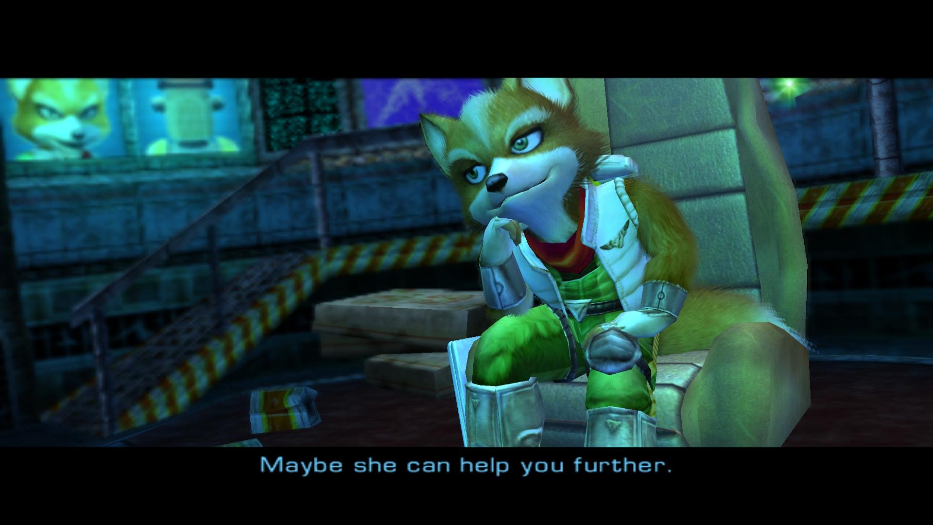 Fox Star Fox Adventures