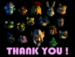 Star Fox 64 all characters