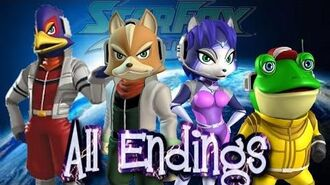 Star Fox Command - All Endings