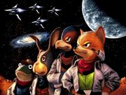 Star Fox team classic Command