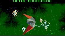 Metal Boomerang