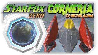 Star Fox Zero - Corneria To Sector Alpha With Black Arwing! Wii U Gameplay Walkthough With GamePad
