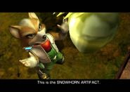 SnowHornArtifact