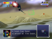 SF64 Fortuna ROB Bomb