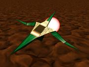 Star Fox 64 Cornerian Figther From Bill Grey